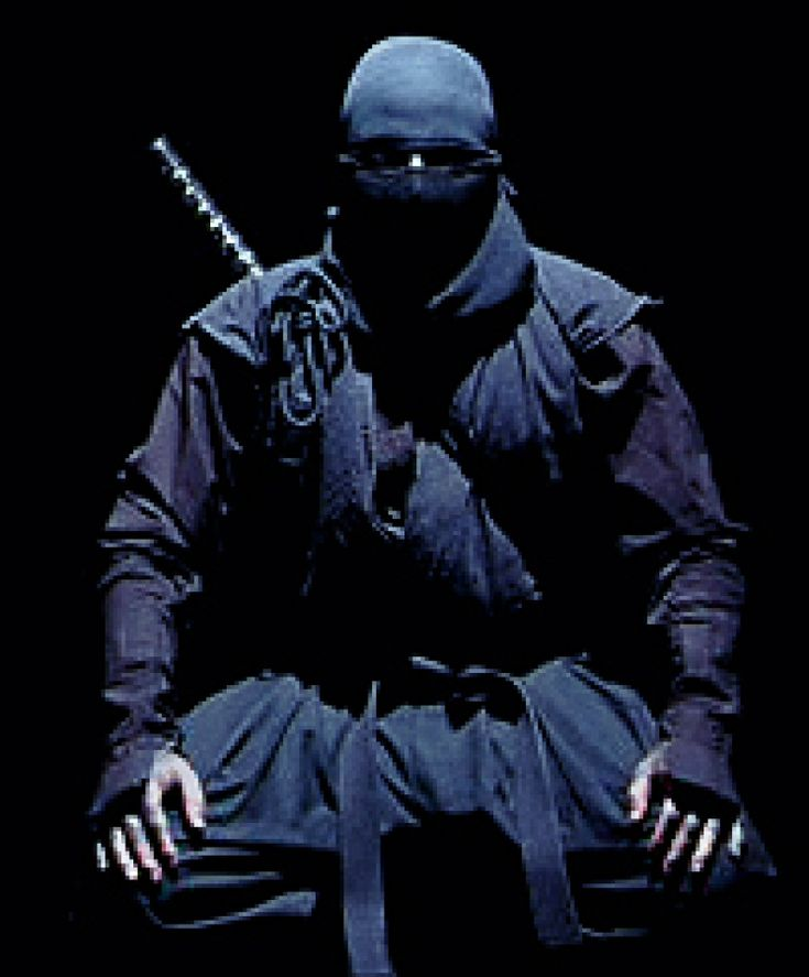 If you could find him, you'd already be dead. #ninjas #ninjitsu