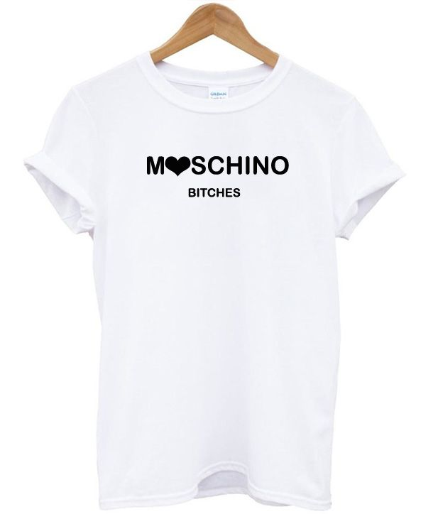 Moschino Bitches T-Shirt fdce6e59467