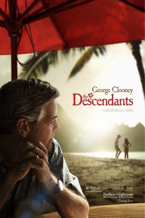 The Descendants - 2011 Yönetmen: Alexander Payne Yazar: Alexander Payne, Nat Faxon Oyuncular: George Clooney, Shailene Woodley, Amara Miller