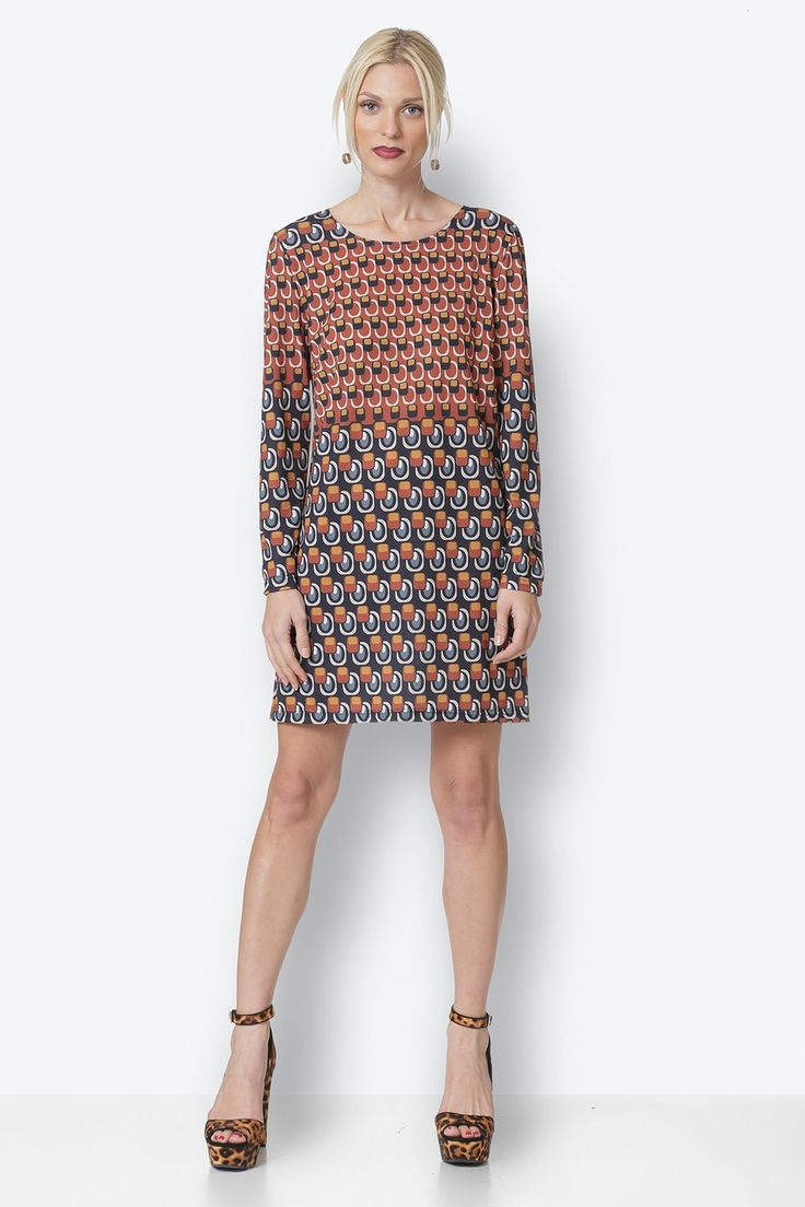 A-Line Dress with Print