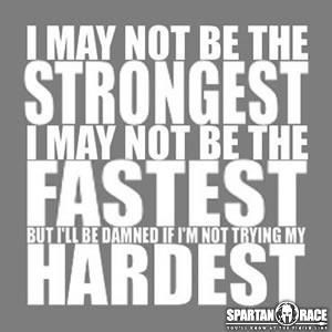 Truth! Love this from Spartan Race :)