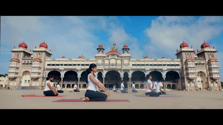The International Day Of Yoga 2017,June 21st ,Amba Vilas Palace  ,Mysuru. Come Discover Mysuru. #Mysuru #Mysore #KarnatakaTourism #Bangalore #Bengaluru #USTOA #ETOA #ASTA #NTA #AAHOA #IATO #PATA #ADTOI #ATOAI #OTOAI #TAAI #TAFI #ATOK #ATA #NATAS #ATOR #CNTO #CNTA #JATA #LATA