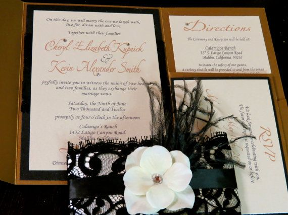222 best Lace Invites images on Pinterest Lace wedding