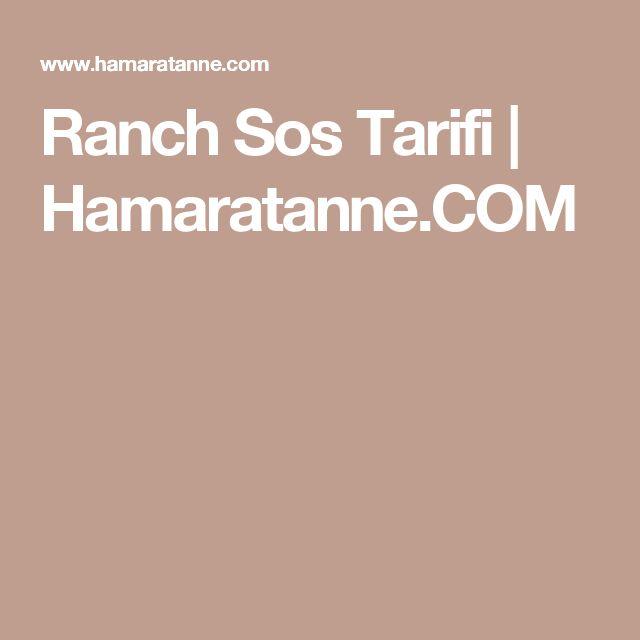 Ranch Sos Tarifi   Hamaratanne.COM