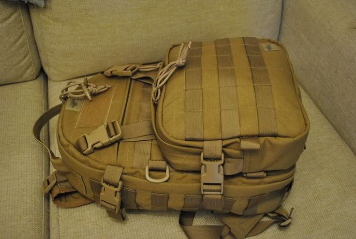 Pretty awesome walk through on how to make a tactical bag