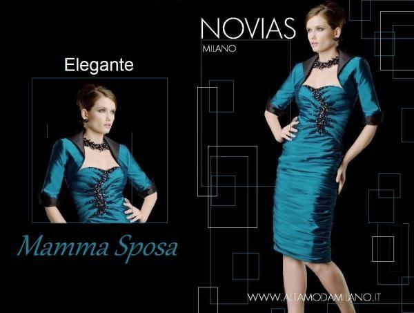 NOVIAS Milano abiti mamma sposa ELEGANTE e FEMMINILE