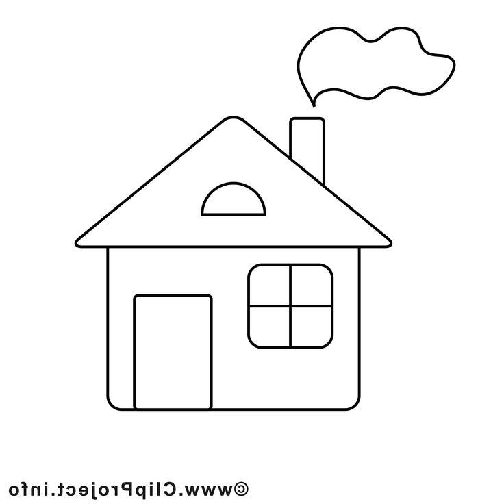 Картинки раскраски для детей мой дом