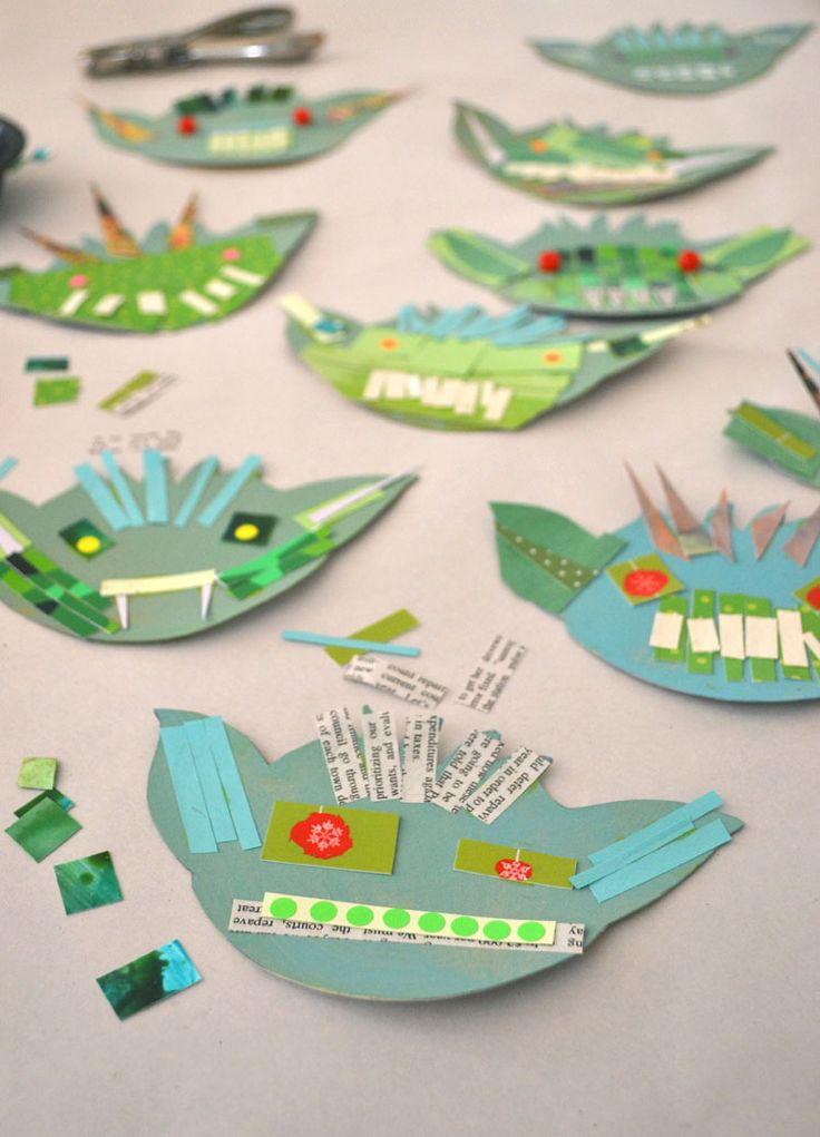 DIY: Kobolde aus recycelten Materialien   – DIY