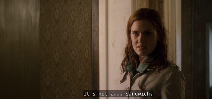 I'll do you a hang sandwich... Hang is a verb, not a sandwich