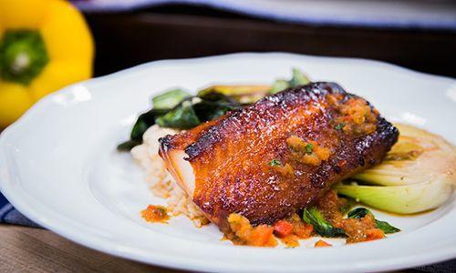 Pez mantequilla Home & Family - Recipes - Chef Roy Yamaguchi's Misoyaki Butterfish Recipe