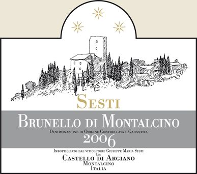 Sesti Wine, Montalcino, Italy