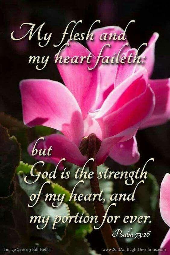 Psalm 73:26 KJV