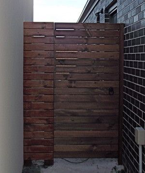 Merbau Side Gate - Shamrock Landscaping and Design, Landscaping, Narre Warren, VIC, 3805 - TrueLocal