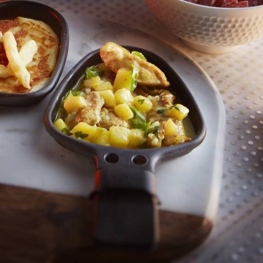 Recept - Kip met mango - Boodschappen #gourmetten