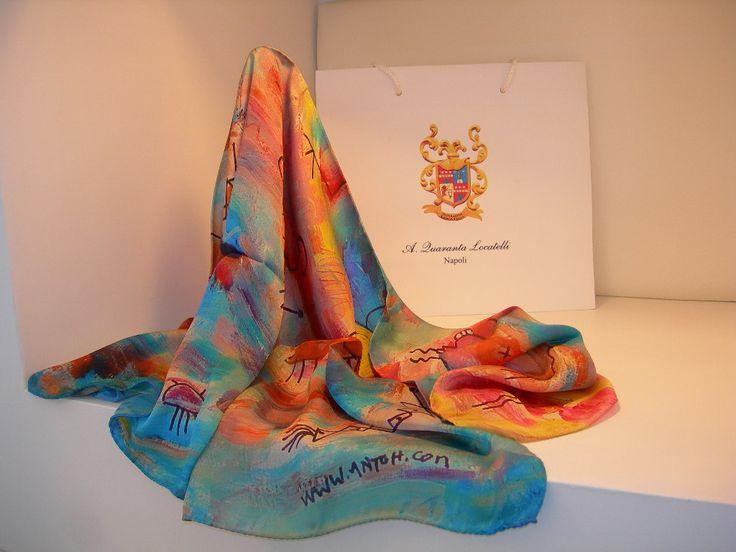 1000 images about art foulard art scarves passion and color on pinterest - Foulard Color