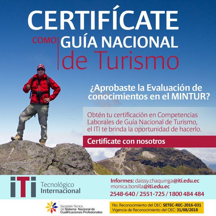 Certificación en Competencias Laborales en Guía Nacional de Turismo