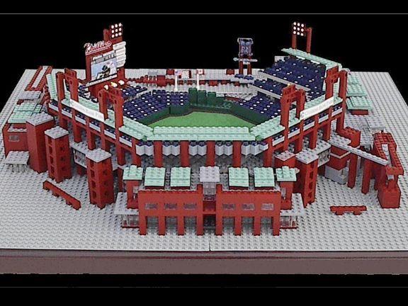 legos photo gallery | LEGO Stadiums - Citizens Bank Park | Sports Illustrated Kids