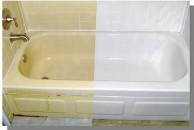 reface old tub | Refinishing a bathtub will save you hundreds of dollars versus ...