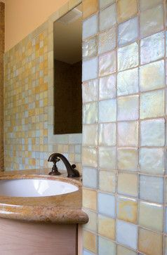 Best Bath Images On Pinterest Glass Tiles Hexagons And Glass
