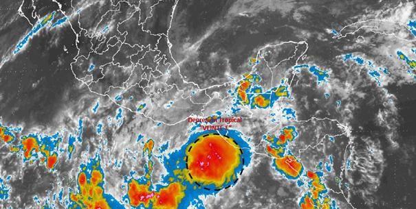 Alertan por lluvias torrenciales en Chiapas y Oaxaca