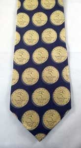 Olympic Gold Medal tie. The Millennium Collection by Davenport. Genuine SOCOG.