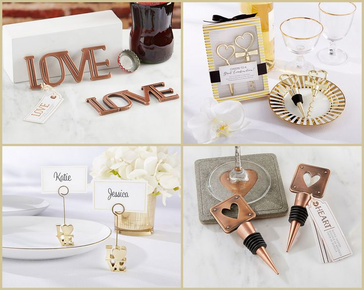 Love and Heart Favors from HotRef.com