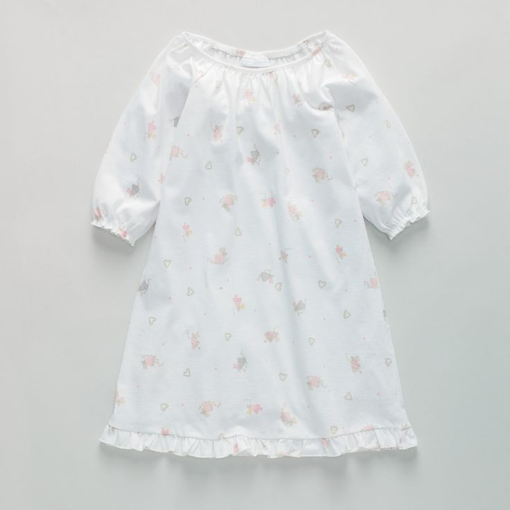 Fairy Heart Jersey Nightdress | The White Company