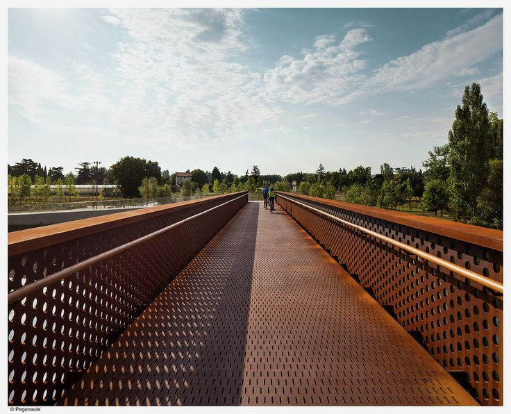 Galería - Pasarela peatonal Parque de Aranzadi / Peralta Ayesa Arquitectos + Opera ingeniería - 12
