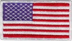 MINI USA PATCH, White Border