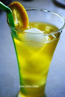 Αρωματική λεμονάδα με σαφράν και καρδάμωμο , χωρίς ζάχαρη. Συνταγές για διαβητικούς Sofeto Γεύσεις Υγείας