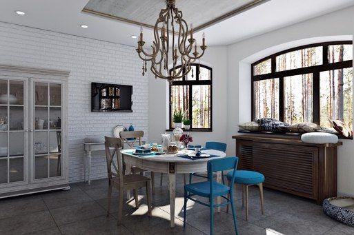 Идеально вписывается отреставрированная антикварная мебель в стиле новое ретро в лофт-интерьеры. Посмотрите как стильно, органично и интересно смотрятся яркие стулья с «прошлым» в гостиных и кухнях в стиле лофт.