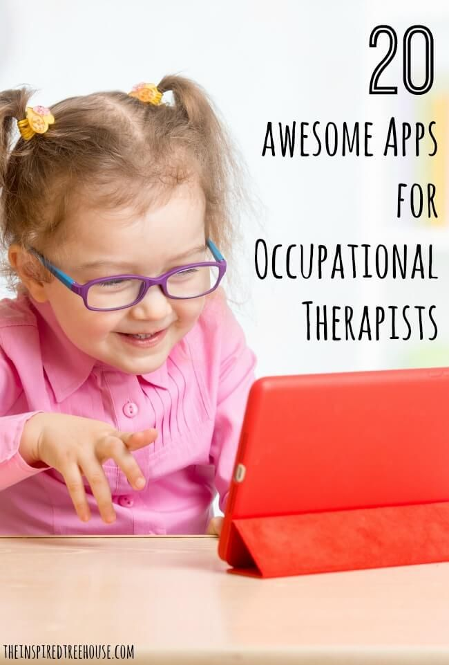 You know how much we rave about whole body movement through free play but, we also understand that there is definitely the time and place for a device.  Here are some of the the best apps for kids that we use to promote fine motor and visual motor skills and more!