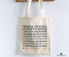 Le produit Tote-bag Maîtresse est vendu par Impressionne nous dans notre boutique Tictail.  Tictail vous permet de créer gratuitement en ligne une boutique de toute beauté sur tictail.com