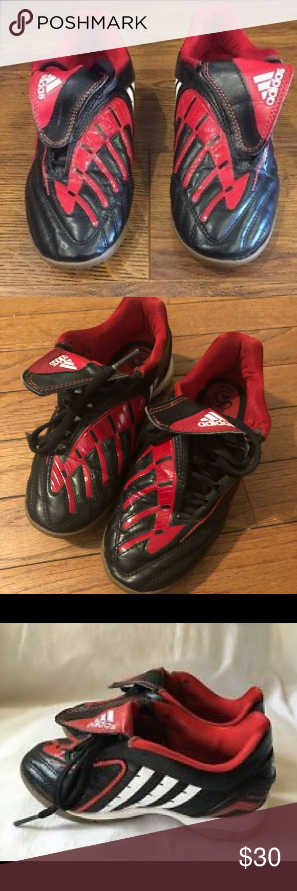 ADIDAS Kids Absolado Indoor soccer shoes 1.5 Like New Condition ! Grown out of before really got a chance to wear :/ adidas Shoes Sneakers