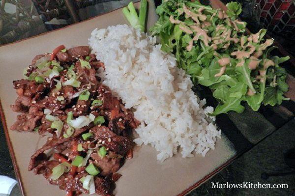 An easy Korean BBQ recipe (bulgogi) - Marlows Kitchen