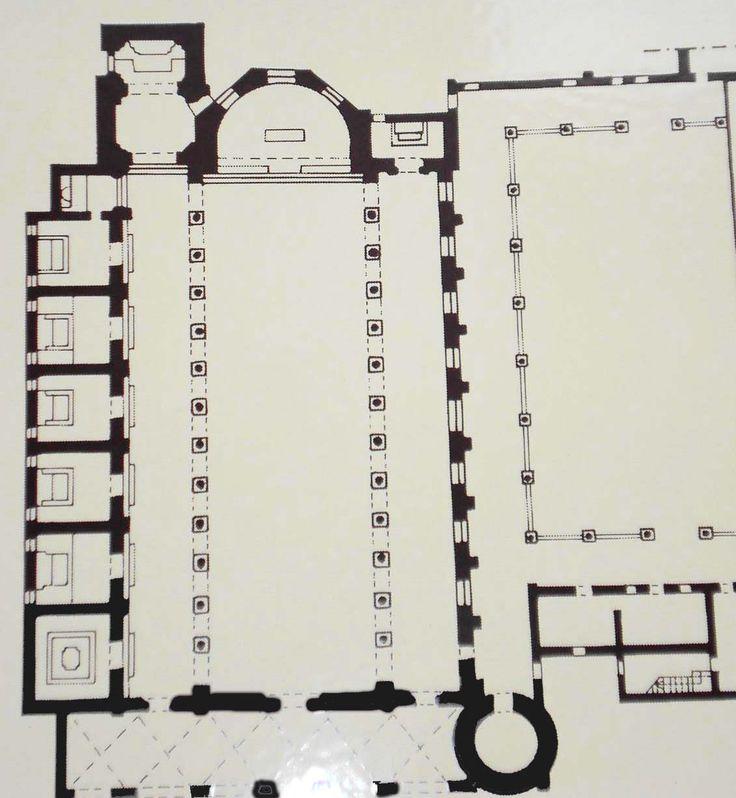 sant'apollinare nuovo ravenna plan, 5th century