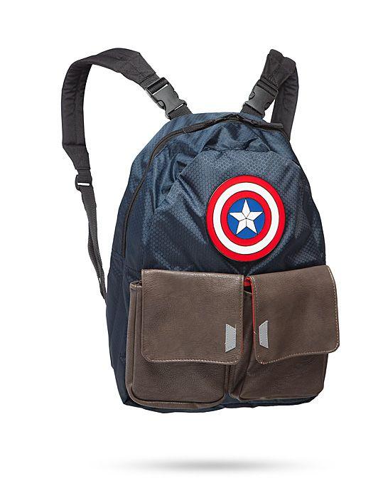 Marvel Captain America Reversible Backpack
