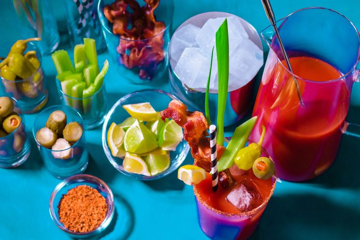 Bloody Mary Bar zum Selbermachen – Food and Cooking