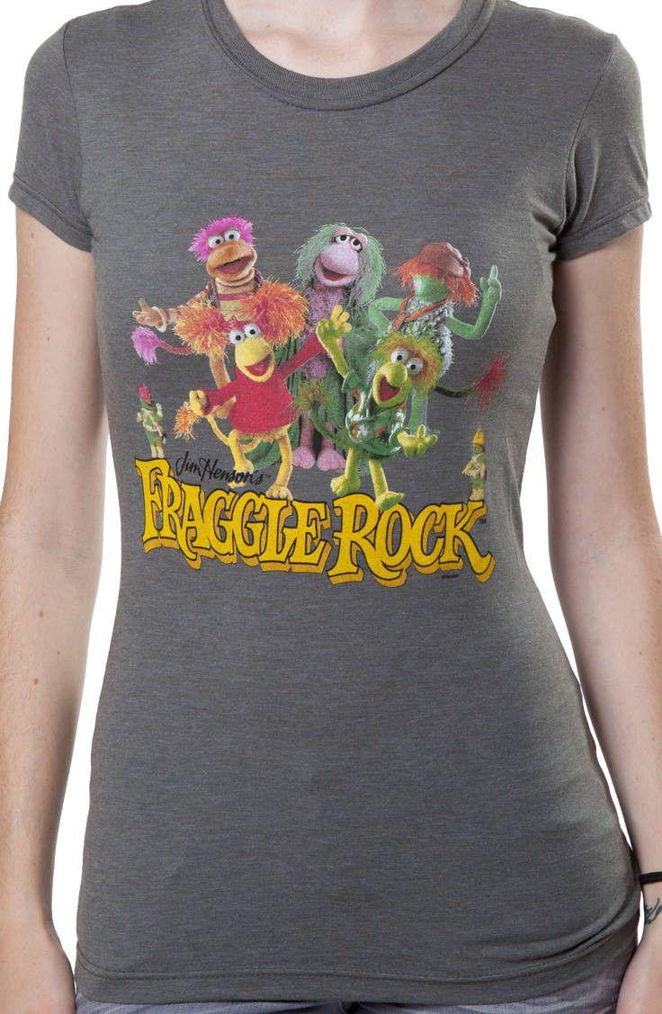 Ladies fraggle rock t shirt