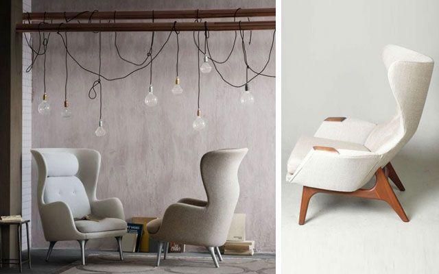   70 sillones orejeros modernos para decorar el salón