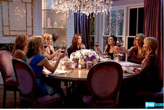 Kyle Richards dining room