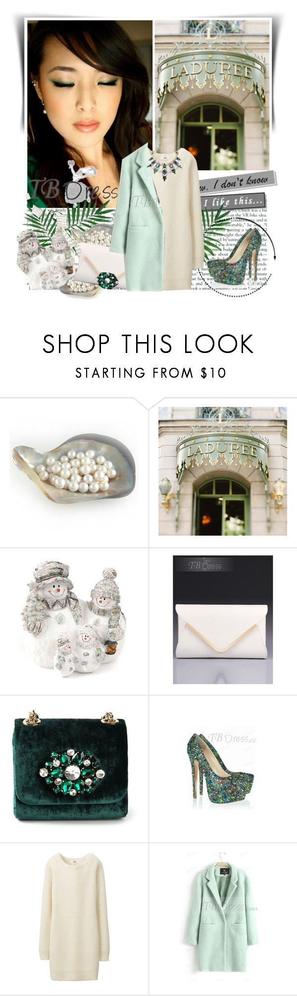 """""""TB Dress"""" by dalila-mujic ❤ liked on Polyvore featuring Ladurée, Dolce&Gabbana, Uniqlo and tbdress"""