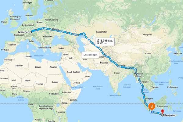 Deutscher Gefangene Auf Bali Will 14 000 Km Laufen Bali