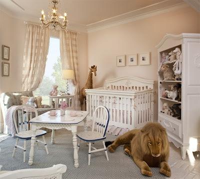 neutral nurseryWhite Beds, Kids Room, Pink Wall, Baby Girls, Baby Room, Stuffed Animal, Baby Furniture, Kids Bedrooms Ideas, Baby Nurseries