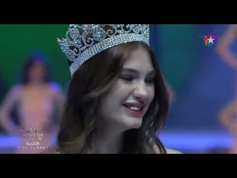 Ecem Çırpan  Miss Turkey 2015 Birincisi - Taç Giyme
