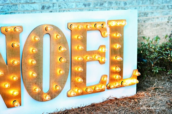 27 Best Images About Marquee Light On Pinterest Wood