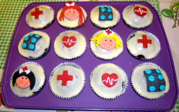 Cupcakes para enfermeras