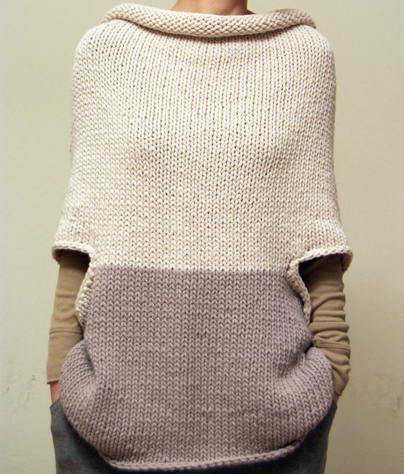 I am obsessed with this & really want to try & knit something like it. Original pin from http://www.luxuryistohavesimplethings.com