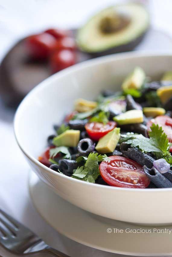 Clean Eating Recipes | Clean Eating Black Bean Pasta