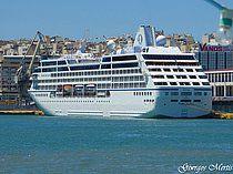 Το Sirena πλευρισμένο στον Πειραιά. 03/06/2016.